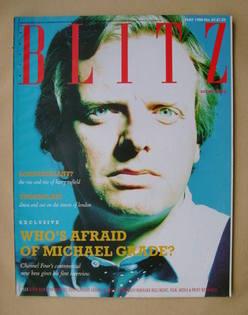 <!--1988-05-->Blitz magazine - May 1988 - Michael Grade cover