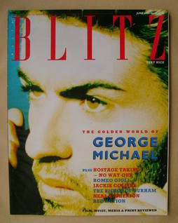 <!--1988-06-->Blitz magazine - June 1988 - George Michael cover