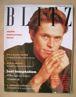 <!--1988-09-->Blitz magazine - September 1988 - Willem Dafoe cover (No. 69)