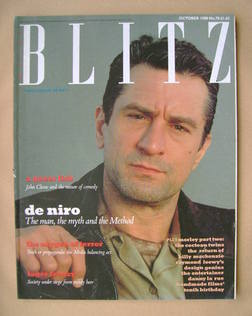 <!--1988-10-->Blitz magazine - October 1988 - Robert De Niro cover (No. 70)