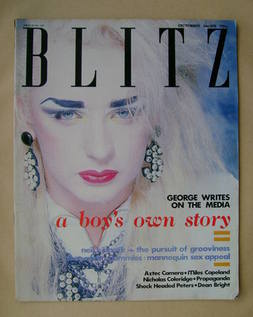 Blitz magazine - October 1984 - Boy George cover (No. 25)