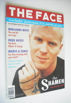 The Face magazine - Mister C cover (December 1992 - Volume 2 No. 51)