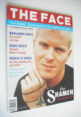 <!--1992-12-->The Face magazine - Mister C cover (December 1992 - Volume 2