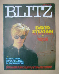<!--1984-06-->Blitz magazine - June 1984 - David Sylvian cover (No. 22)