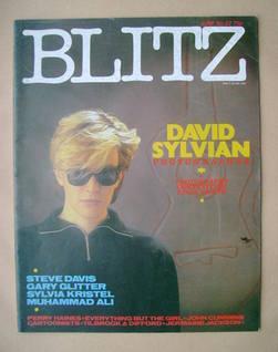 Blitz magazine - June 1984 - David Sylvian cover (No. 22)