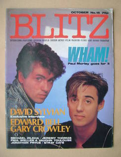 Blitz magazine - October 1983 - Wham! cover (No. 15)