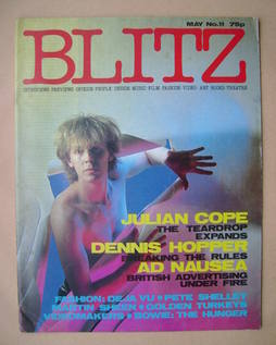 <!--1983-05-->Blitz magazine - May 1983 - Julian Cope cover (No. 11)