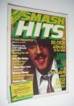 Smash Hits magazine - Phil Lynott cover (8-21 March 1979)