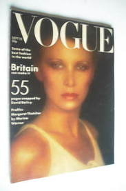 <!--1975-09-->British Vogue magazine - 15 September 1975 - Aurore Clement c
