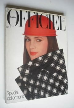 L'Officiel Paris magazine (March 1981)
