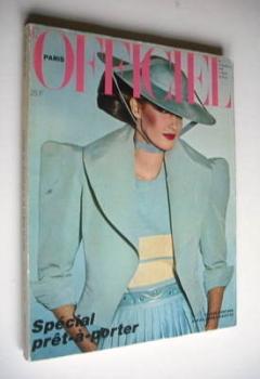 <!--1980-02-->L'Officiel Paris magazine (February 1980)
