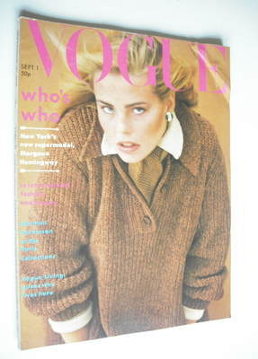 <!--1975-09-->British Vogue magazine - 1 September 1975 - Margaux Hemingway