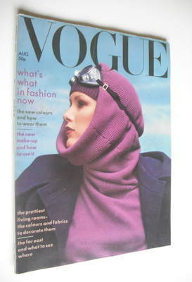 <!--1975-08-->British Vogue magazine - August 1975