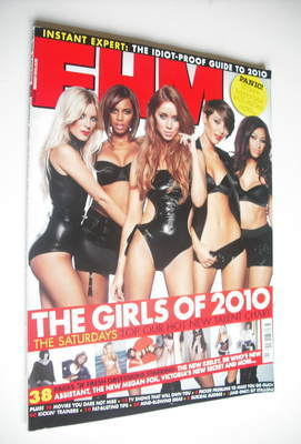 <!--2010-02-->FHM magazine - The Saturdays cover (February 2010)