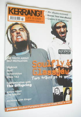 <!--2000-12-02-->Kerrang magazine - Soulfy & Glassjaw cover (2 December 200