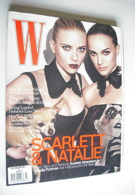 <!--2008-03-->W magazine - March 2008 - Scarlett Johansson and Natalie Port