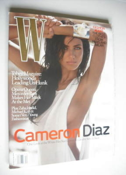 W magazine - December 2006 - Cameron Diaz cover