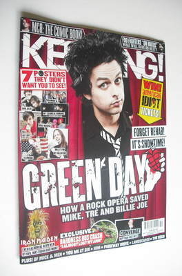 <!--2012-10-20-->Kerrang magazine - Billie Joe Armstrong cover (20 October