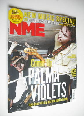 <!--2012-10-06-->NME magazine - Palma Violets cover (6 October 2012)