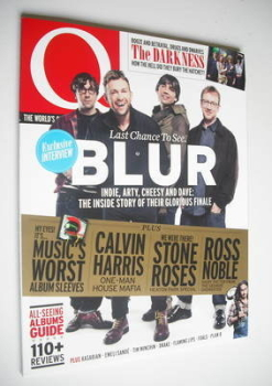 Q magazine - Blur cover (September 2012)