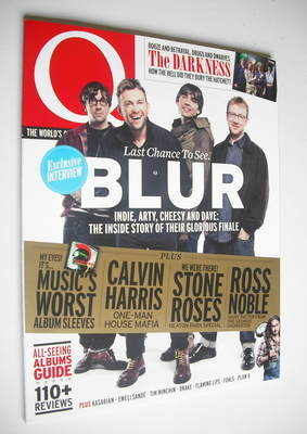 <!--2012-09-->Q magazine - Blur cover (September 2012)