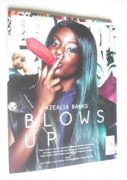 Dazed & Confused magazine (September 2012 - Azealia Banks cover)