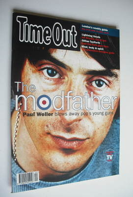 <!--1995-05-17-->Time Out magazine - Paul Weller cover (17-24 May 1995)