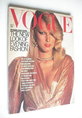 <!--1976-10-01-->British Vogue magazine - 1 October 1976 (Vintage Issue)