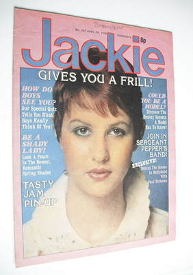 <!--1978-04-29-->Jackie magazine - 29 April 1978 (Issue 747)