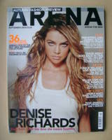<!--2002-09-->Arena magazine - September 2002 - Denise Richards cover
