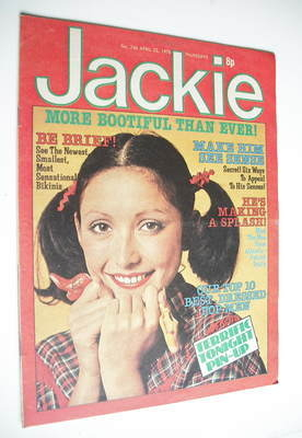 <!--1978-04-22-->Jackie magazine - 22 April 1978 (Issue 746)