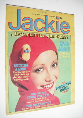<!--1978-04-01-->Jackie magazine - 1 April 1978 (Issue 743)