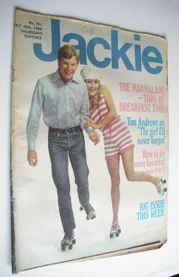 <!--1968-10-26-->Jackie magazine - 26 October 1968 (Issue 251)