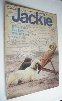 <!--1968-12-07-->Jackie magazine - 7 December 1968 (Issue 257)