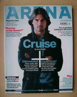 <!--2004-02-->Arena magazine - February 2004 - Tom Cruise cover