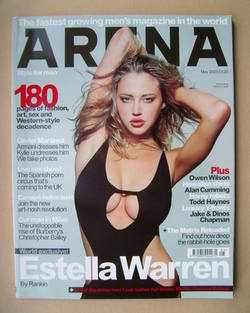 <!--2003-05-->Arena magazine - May 2003 - Estella Warren cover