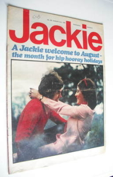 Jackie magazine - 2 August 1969 (Issue 291)
