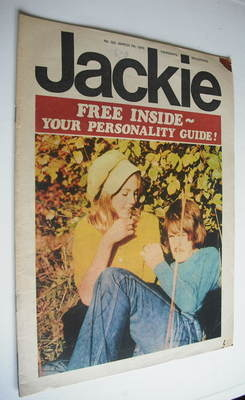 <!--1970-03-07-->Jackie magazine - 7 March 1970 (Issue 322)