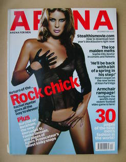 <!--2001-12-->Arena magazine - December 2001 - Rachel Hunter cover