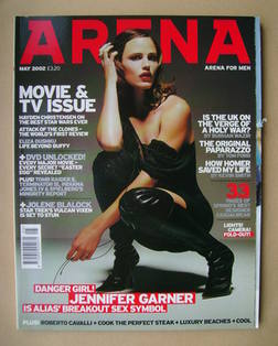<!--2002-05-->Arena magazine - May 2002 - Jennifer Garner cover