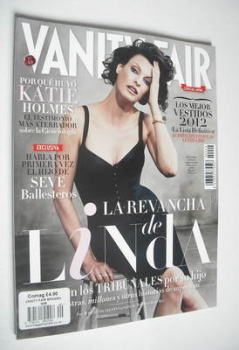 Vanity Fair magazine - Linda Evangelista cover (September 2012)