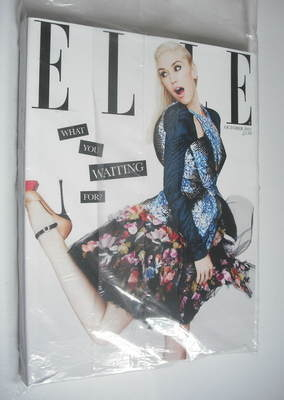 <!--2012-10-->British Elle magazine - October 2012 - Gwen Stefani cover (Su