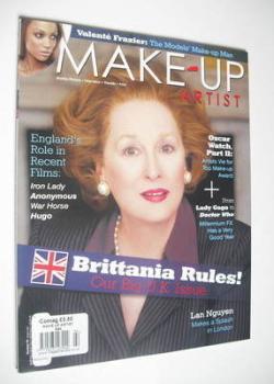 Make-Up Artist magazine - Meryl Streep cover (February 2012)