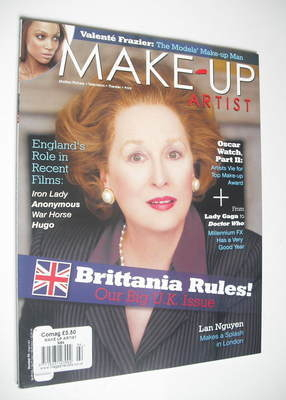Make-Up Artist magazine - Meryl Streep cover (February 2012)