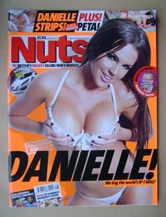 <!--2009-11-27-->Nuts magazine - Danielle Lloyd cover (27 November-3 Decemb