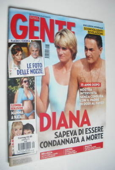 Gente magazine - Princess Diana and Dodi Al Fayed cover (25 August 2012)