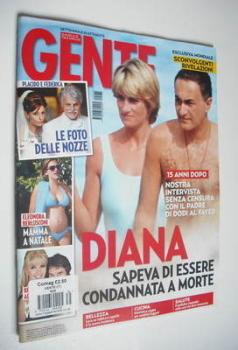Gente magazine - Princess Diana and Dodi Al Fayed cover (25 August 2012)
