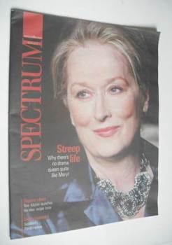 Spectrum magazine - Meryl Streep cover (19 August 2012)