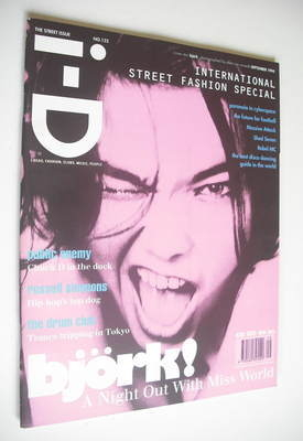 <!--1994-09-->i-D magazine - Bjork cover (September 1994 - No 132)