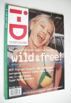 i-D magazine - Karen Ferraii cover (July 1993 - No 118)